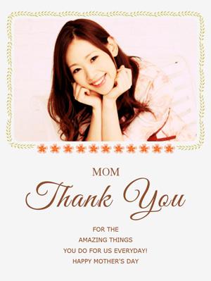 fotor 母の日メッセージカード