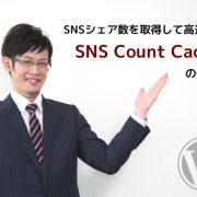 ツイート数やはてブ数を取得して高速表示できるSNS Count Cacheの使い方