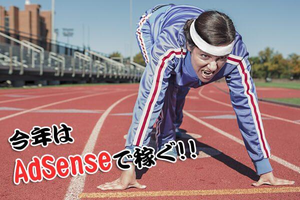 Google AdSense で稼ぎたい