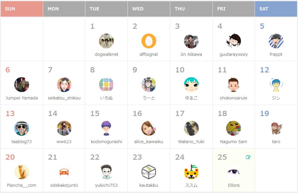 Blog Beginners Advent Calendar 2015