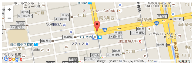 Simple Map 緯度経度