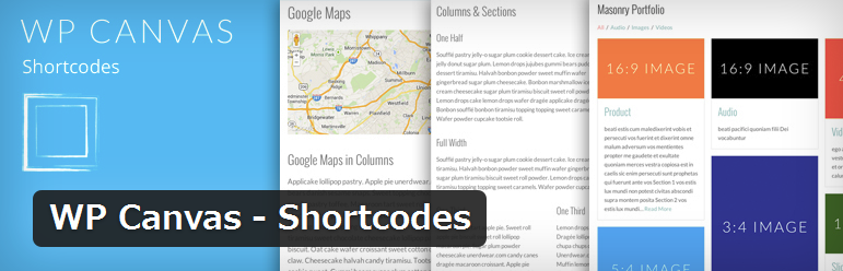 WP Canvas - Shortcodes