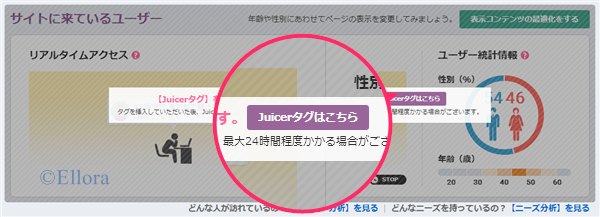 Juicer タグ取得