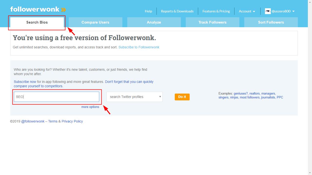 Followerwonk-Search Bios